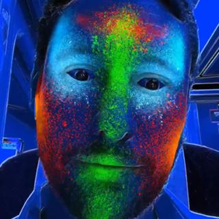 Christian Venables, creator of 'NeonPunk' Instagram AR filter