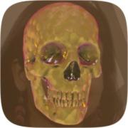 Skull v2 Instagram AR filter icon