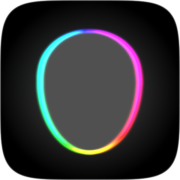 Neon Rainbow Instagram AR filter icon