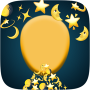 Stars & moons Instagram AR filter icon