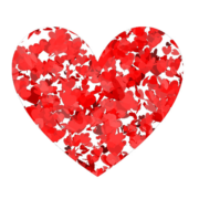 Flickering Hearts filter by Jerzy Pilch