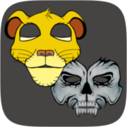 Cartoon Mask Instagram AR filter icon