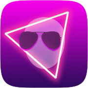 Neon 80's Instagram AR filter icon