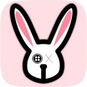Rabbit puppet filter by Naza Carrero