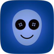 Button eyes Instagram AR filter icon