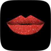Lips glitter Instagram AR filter icon