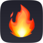 Fire emoji filter by Chris Pelk