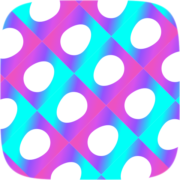 Wallpaper Filled Instagram AR filter icon