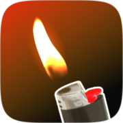 D̶o̶n̶'̶t touch fire Instagram AR filter icon