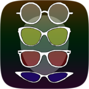 Painted glasses filter review by