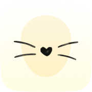 Kawaii Instagram AR filter icon