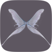 glass wings Instagram AR filter icon
